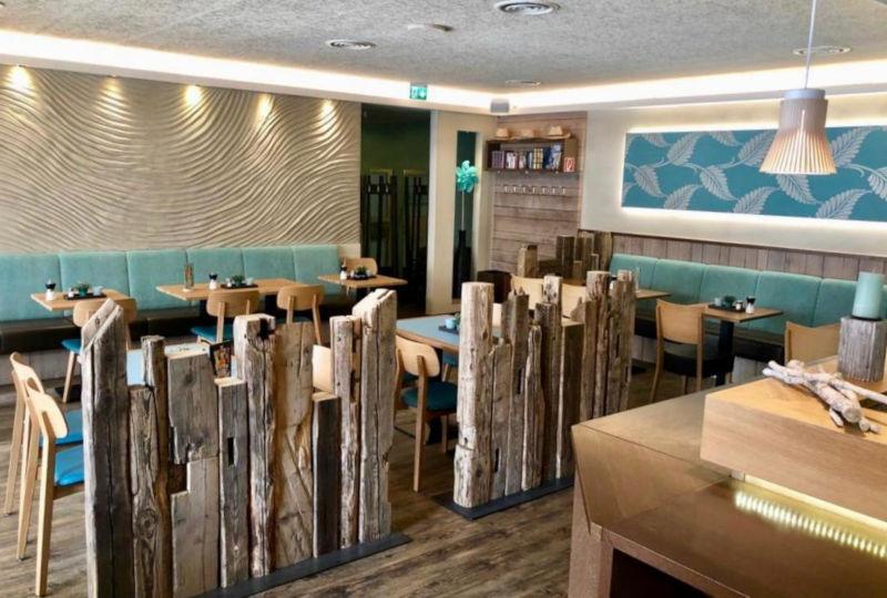 Gastraum des Linus Restaurants in Dortmund