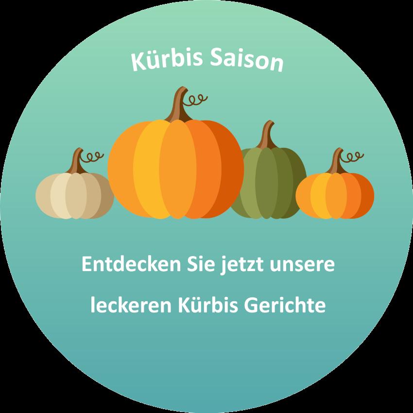 Saisonkarte Kürbiskarte des Linus Restaurants in Dortmund